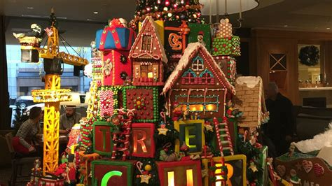 Seattle Gingerbread Houses by Seattle Events Sheraton Seattle Gingerbread