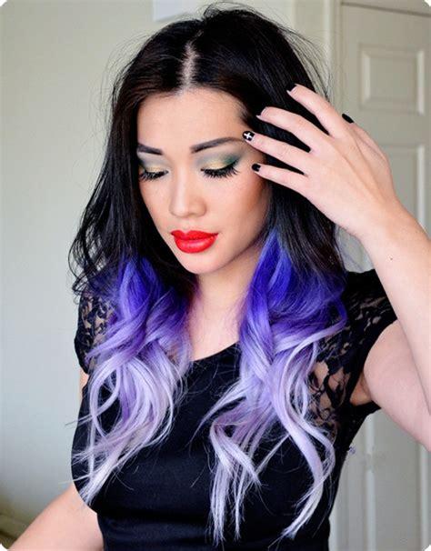 black hairstyles purple black ombre hair archives vpfashion vpfashion