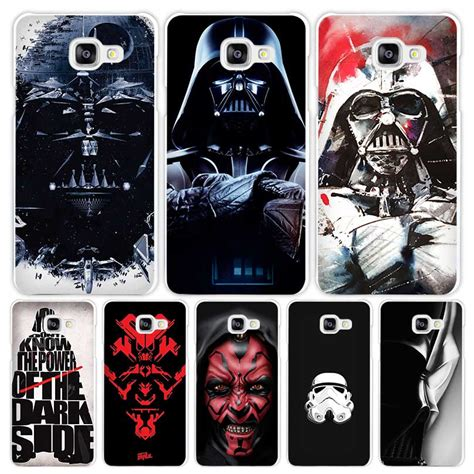 Casing Hp Samsung A7 2016 Darth Vader Wars Custom Hardcase Cover darth vader wars white coque shell cover phone cases for samsung galaxy a3 a5 a7