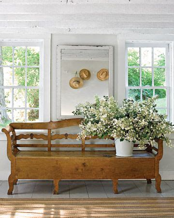 cottage style bench swedish style fabulous bench cottage charm pinterest