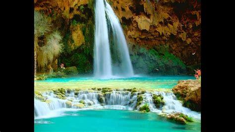 waterfall screensavers nfssummerwaterfall youtube