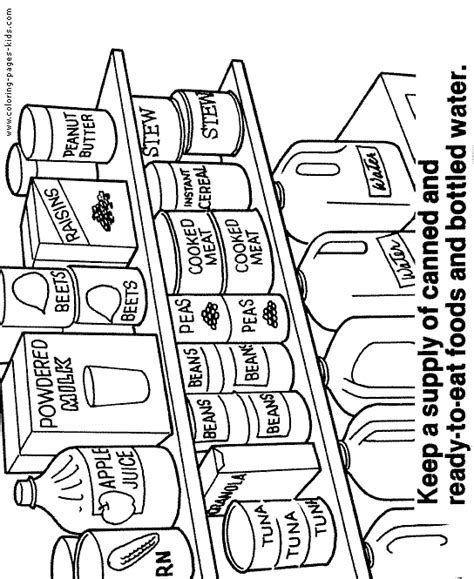 coloring pages for food safety free coloring pages of food safety