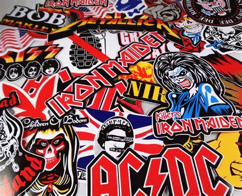 Rock Stickers