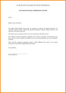 Directors Loan Confirmation Letter Format 4 Confirmation Of Bank Account Target Cashier