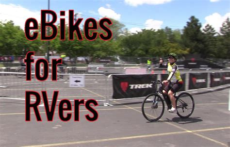 5 ebikes for rvers