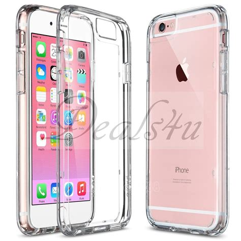 Iphone 6 6s Power 7000mah Casing Cover Bumper Backcase Kuat Pc clear slim thin shockproof tpu bumper cover for apple iphone 6 6s ebay