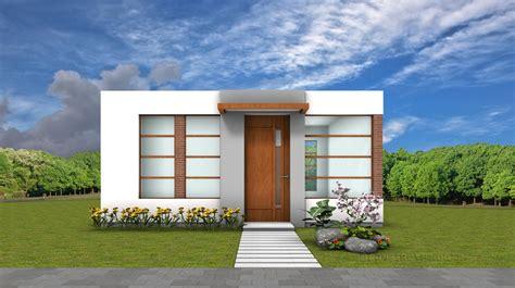 foto de una casa planos de casa peque 241 a de 42 metros cuadrados