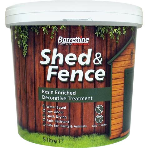 Shedding Treatment shed fence treatment 5l cedar toolstation