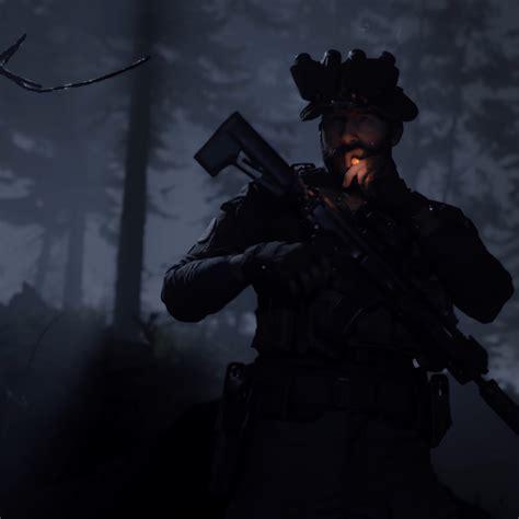 call  duty modern warfare captain price smoking