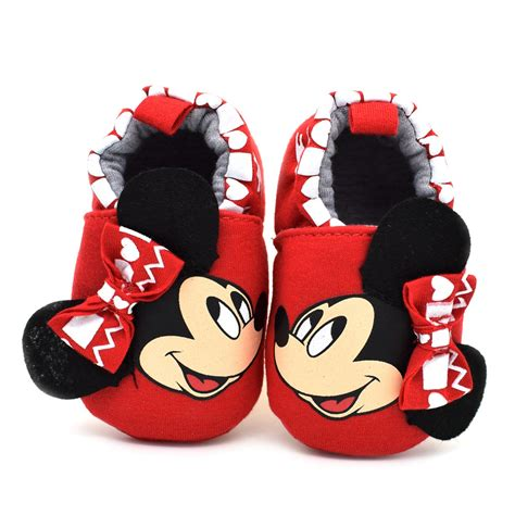 minnie mouse shoe slippers baby shoes minnie mouse infant home slippers