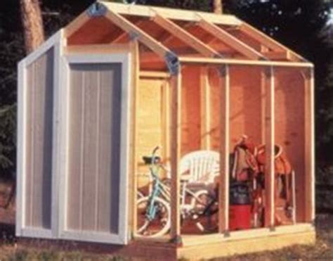 Fast Framer Universal Storage Shed Framing Kit by The World S Catalog Of Ideas
