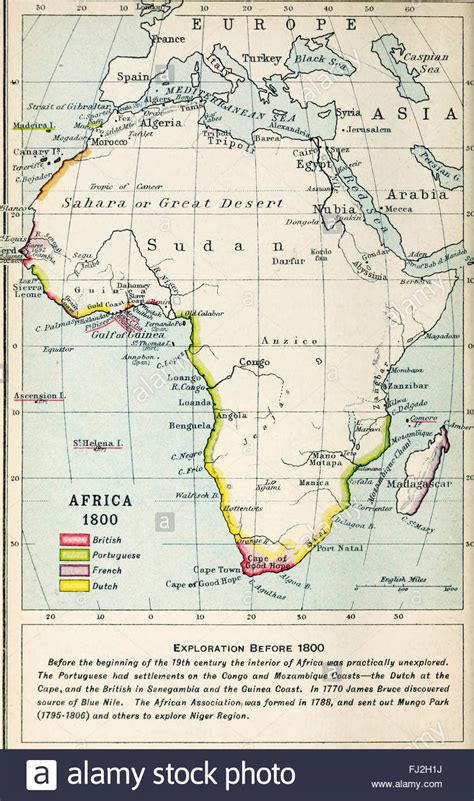 africa map 1800 map of africa 1800 stock photo royalty free image