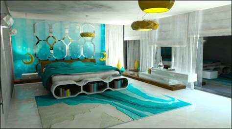 Turquoise Bedroom Trends 2017 for more freshness