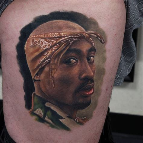 tupac tattoo portrait tupac best ideas gallery