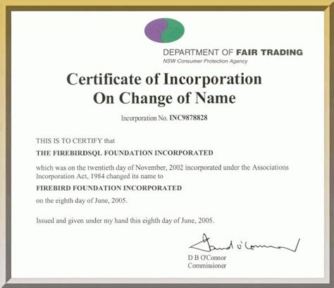 certification letter for change of name certification letter for change of name firebird