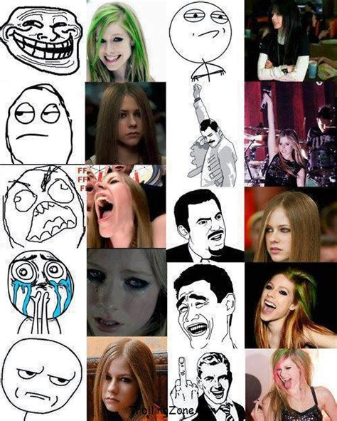Avril Lavigne Meme - meme avril lavigne fan art 33056346 fanpop