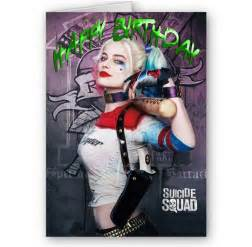 squad harley quinn a5 happy birthday card 9269 p - Harley Quinn Birthday Card
