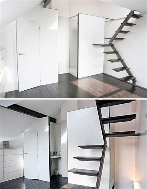 Space Saving Stairs Design Space Saving Stairs Designs For Small Homes Stairs Designs