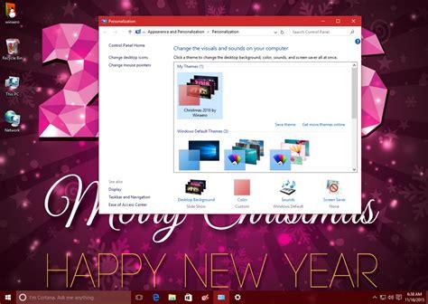 themes for windows 7 new 2016 christmas 2016 theme for windows 10 windows 7 and windows 8