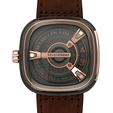 Seven Friday M Series Meliala seven friday s m series 48mm brown leather band