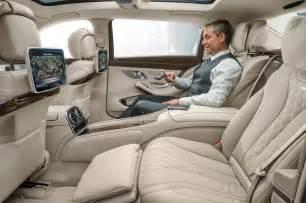 2016 mercedes maybach s600 rear interior seats 02 photo 5