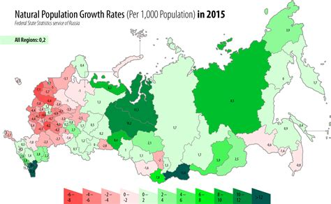 russia map and population file russia population growth rates 2015 png