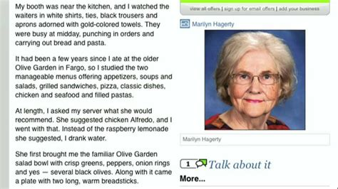 Olive Garden Reviews by Ian Mckellen Reads Grand Forks Olive Garden Review