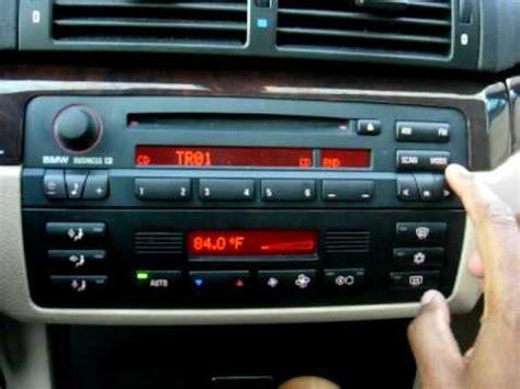 2004 bmw 330ci bluetooth sirius mp3 playback and bluetooth on bmw business cd53