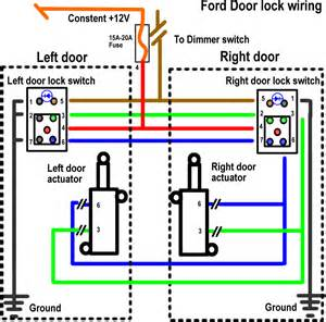 5 wire door lock diagram wiring diagram schematic