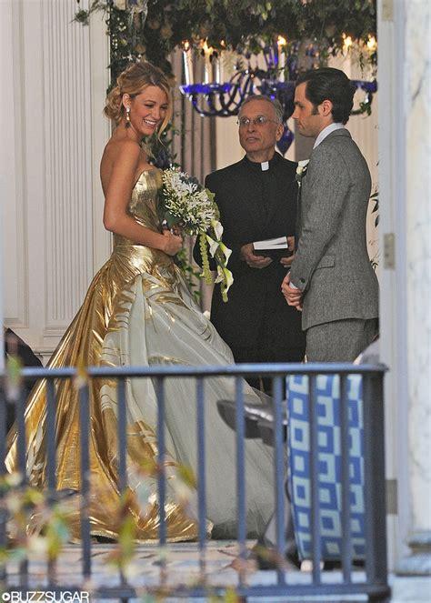 gossip girl serena and dans wedding serena and dan s wedding on gossip girl popsugar
