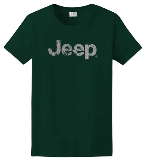 Tshirt Jeep Logo all things jeep s t shirt with distressed jeep logo