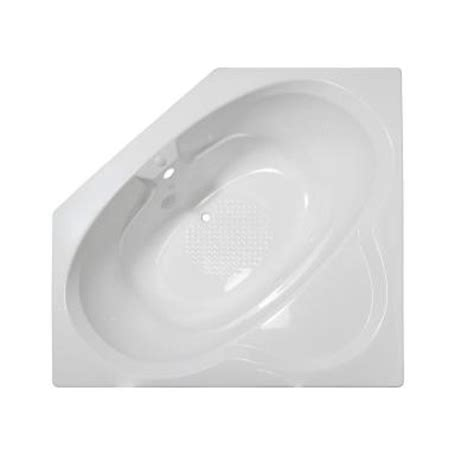 lyons industries bathtubs lyons industries classic 5 ft corner front drain heated