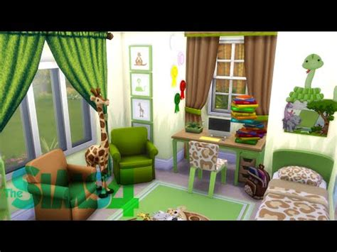 Toddler Bedroom Sets For Girls the sims 4 room building quot jungle themed kid s bedroom