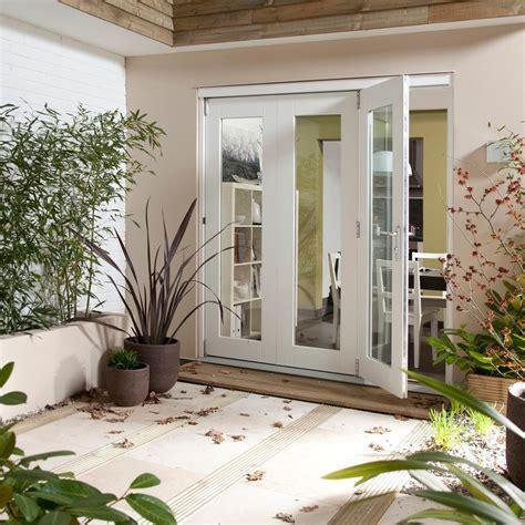 Patio Doors Glazed Pre Finished White Glazed Patio Patio Doors H 2105mm W