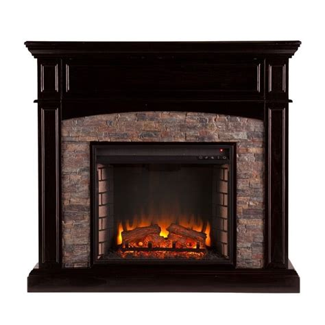 Southern Enterprises Electric Fireplace by Southern Enterprises Grantham Electric Media Fireplace In