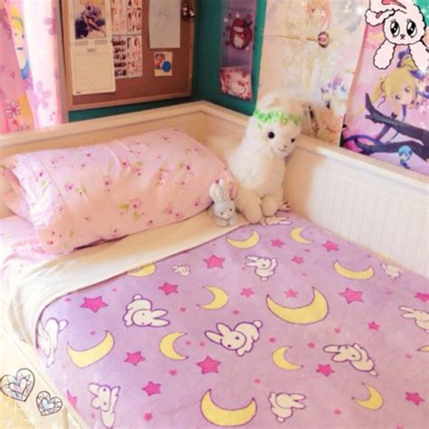 cardigan bedding kawaii bunny moon home decor