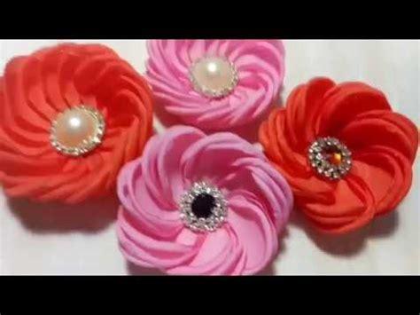Kain Asahi 62 tutorial bunga kain asahi fabric flower