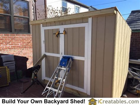 How To Hang Shed Doors by Pictures Of Lean To Sheds Photos Of Lean To Shed Plans