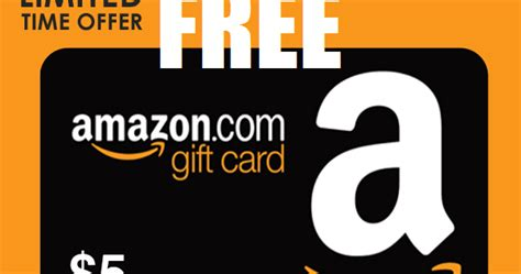 5 Amazon Gift Card Code - coupons and freebies free 5 amazon gift card text messaging required