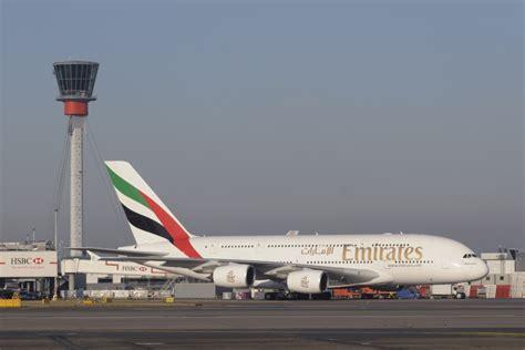 emirates heathrow to dubai emirates ups a380 capacity from london