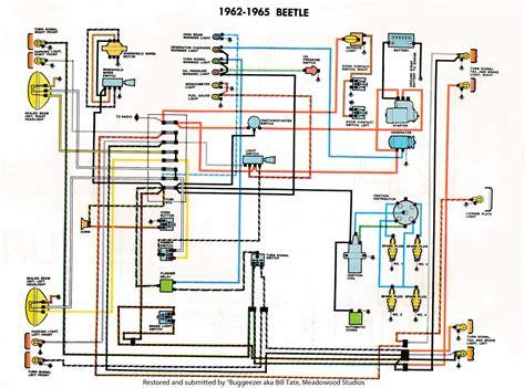 1970 vw beetle wiring diagram