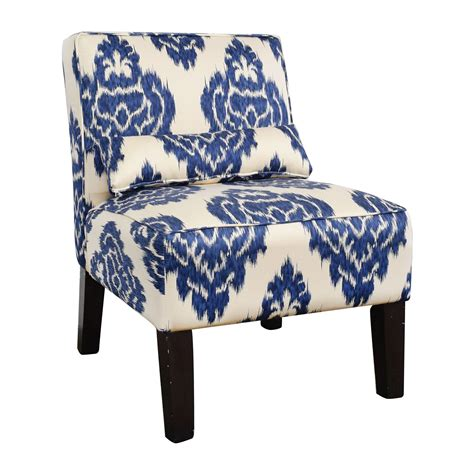 Blue And White Accent Chair 52 Overstock Overstock Blue And White Accent Chair Chairs