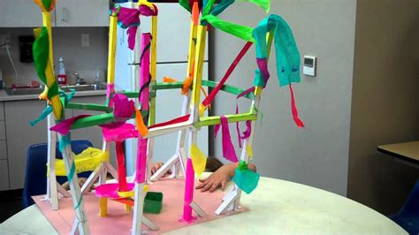 jungle paper roller coaster