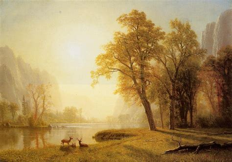 paintings for sale albert bierstadt river california painting