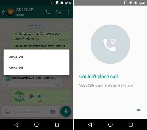 cara video call di whatsapp untuk android updated