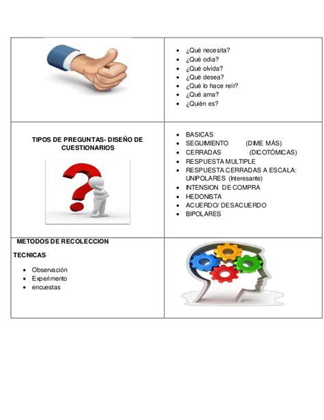preguntas cerradas bipolares definicion cuadro comparativo
