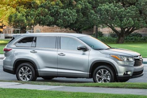 2015 Toyota Highlander Dimensions 2015 Toyota Highlander New Car Review Autotrader