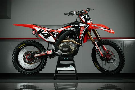honda crf 450 dekor 2018 honda crf 250 450 graphic kits customize your own