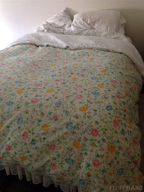 Diy Comforter Cover by Diy Duvet Cover Fluffyland Craft Sewing