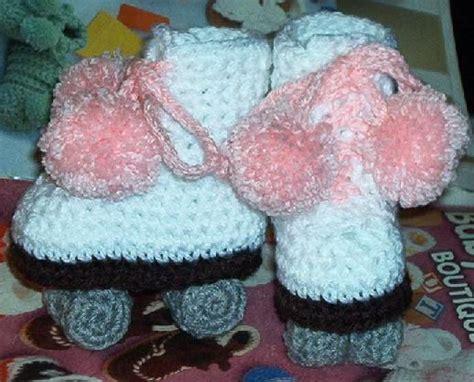 crochet pattern roller skate booties crochet roller skates made by kneat heaven pinterest